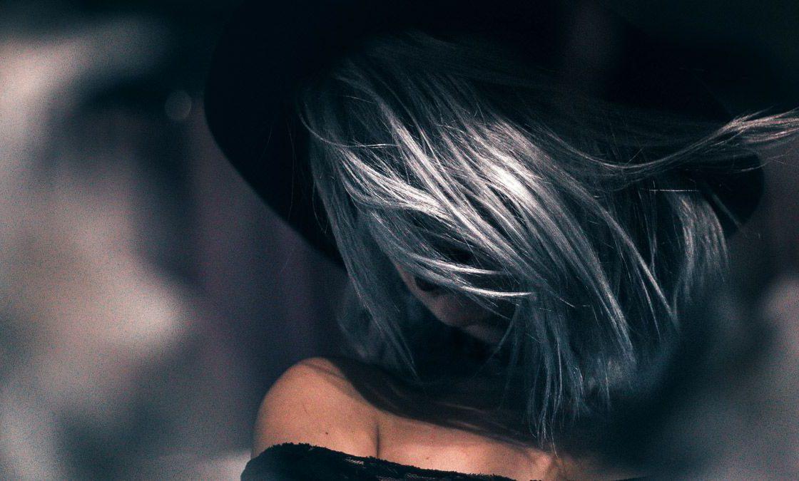 peinados color oscuro