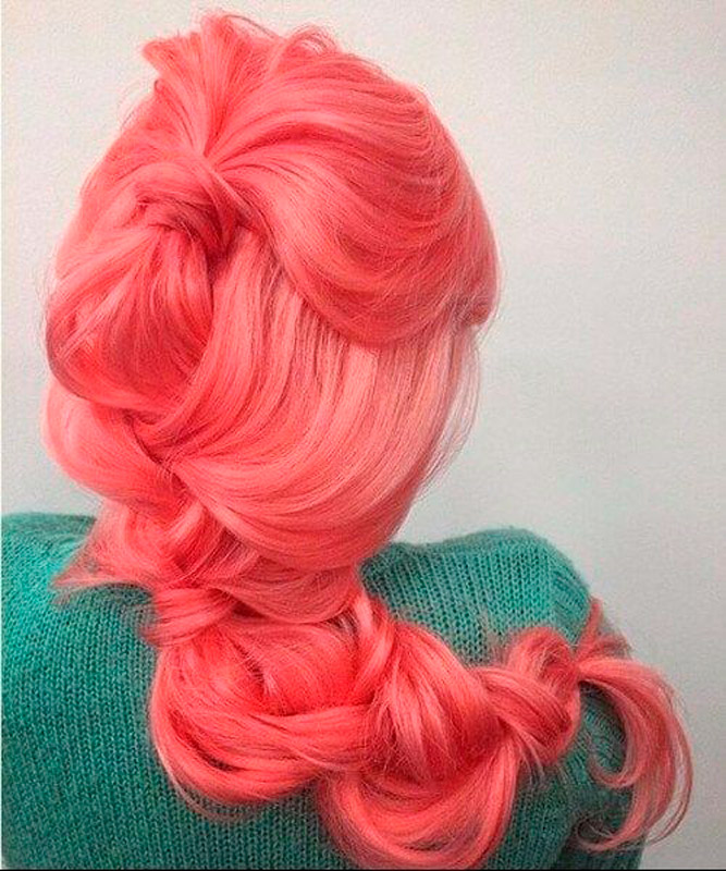 peinado living coral